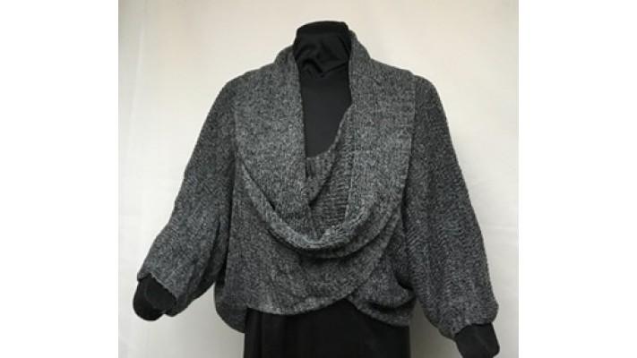 No  noir gris tweed