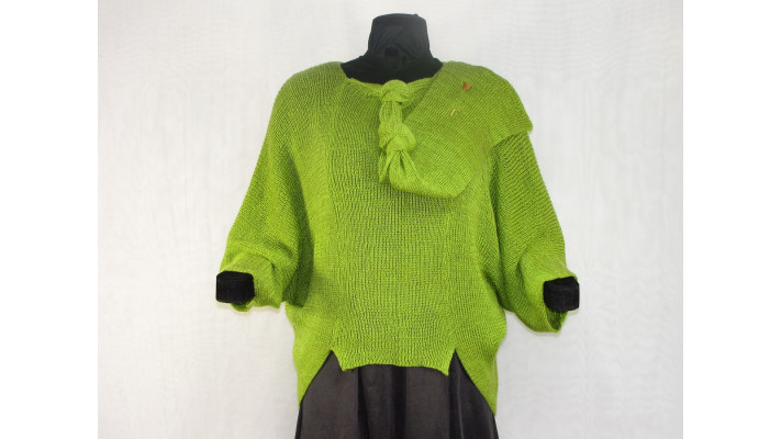 Frileuse chartreuse