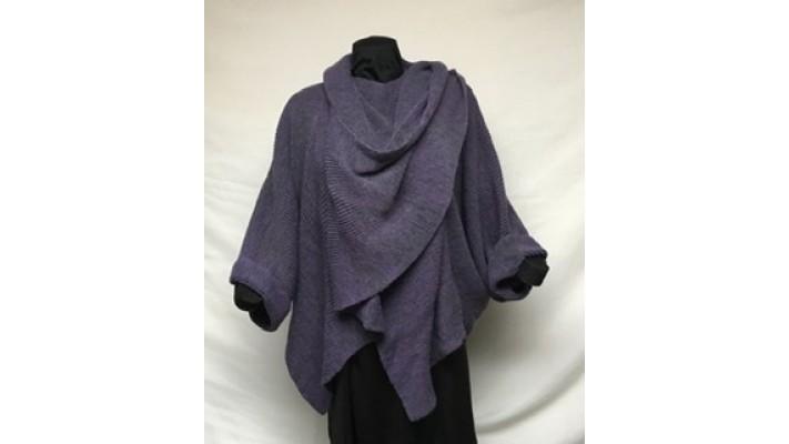 Palla violet, gris foncé