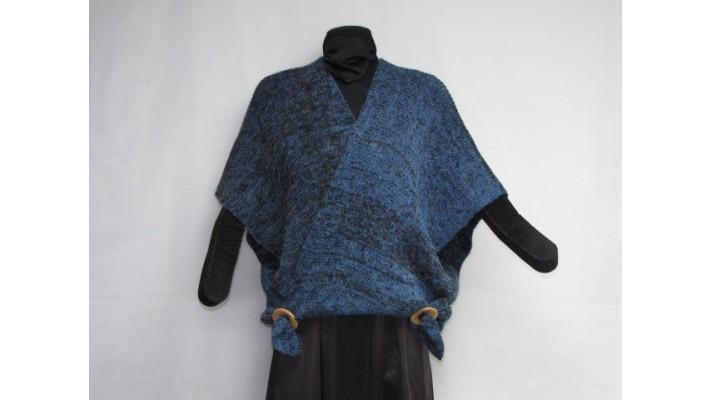 Samouraï- bleu noir